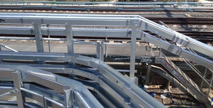 Galvanised Steel Troughing
